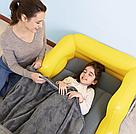 Надувная односпальная кровать Bestway 67714 Джип 160х84х58 см, фото 4