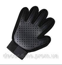 """Перчатка для купания и вычесывания питомцев """"Черная"""" (332423424)"""