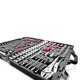 Набор инструментов 101 ед. 1/4 х 1/2 Intertool | ET-7101, фото 5