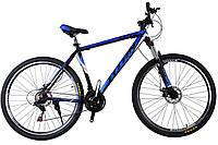 🚲Горный алюминиевый велосипед TITAN EPIC DD (Shimano, моноблок, Lockout); рама 21; колеса 29, фото 1