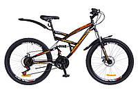 🚲Горный стальной велосипед двухподвесник Discovery CANYON DD 2018; рама 19; колеса 26