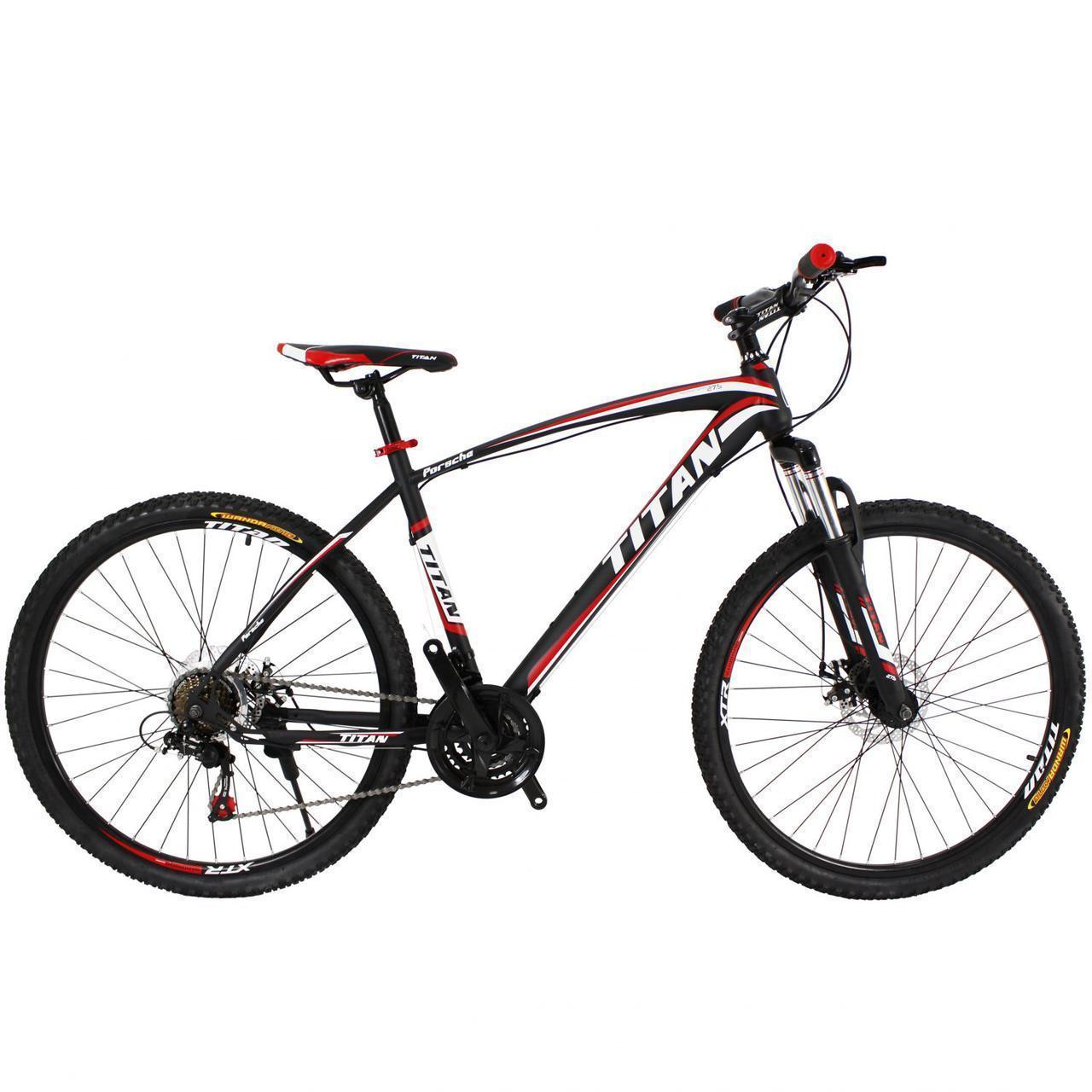 🚲Горный стальной велосипед найнер TITAN PORSCHE ECO (Shimano, моноблок); рама 19,5; колеса 29