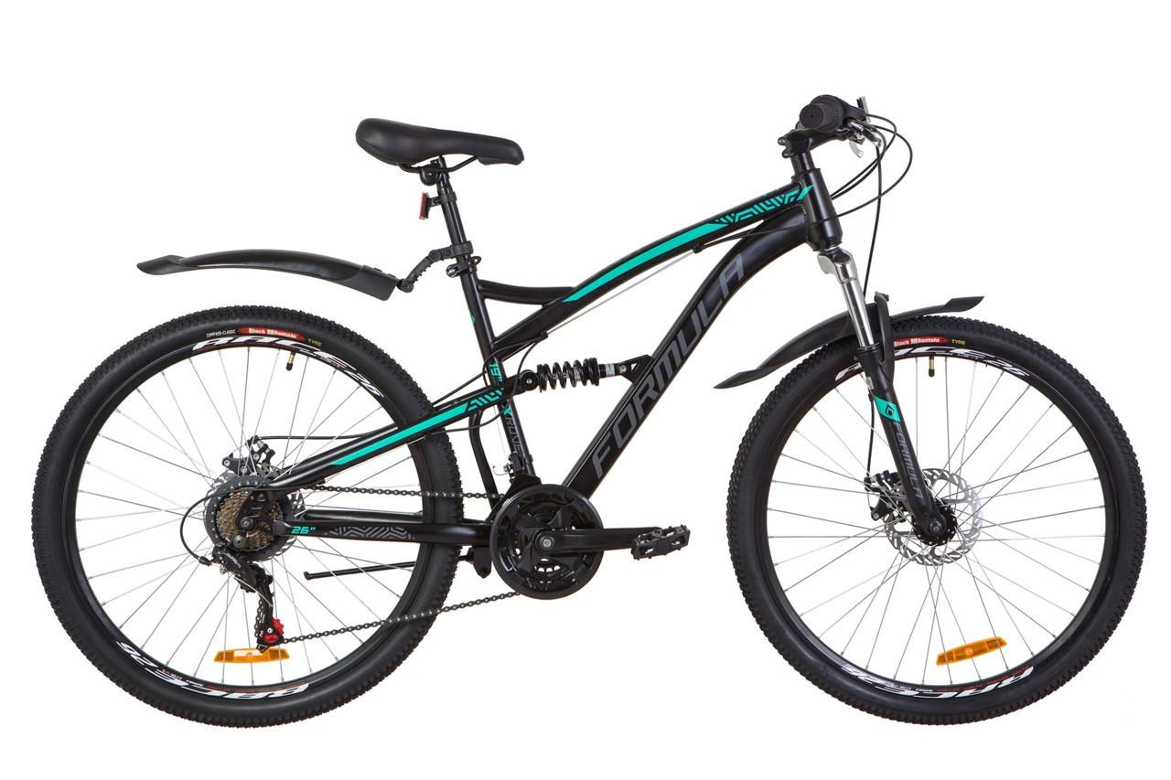 🚲Горный стальной велосипед Formula X-ROVER DD; рама 19; колеса 26