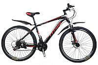 🚲Горный стальной дисковый велосипед TITAN EVOLUTION (Shimano, моноблок); рама 17; колеса 27,5, фото 1