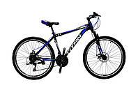 🚲Горный стальной дисковый велосипед TITAN STREET DD (Shimano, моноблок); рама 17; колеса 26, фото 1