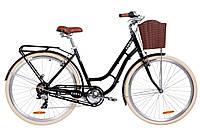 🚲Городской алюминиевый женский велосипед DOROZHNIK CORAL 2019 (7 speed); рама 19; колеса 28, фото 1
