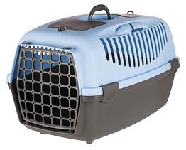 Переноска Trixie Capri 3 для собак 61х40х38 см синяя (39832)