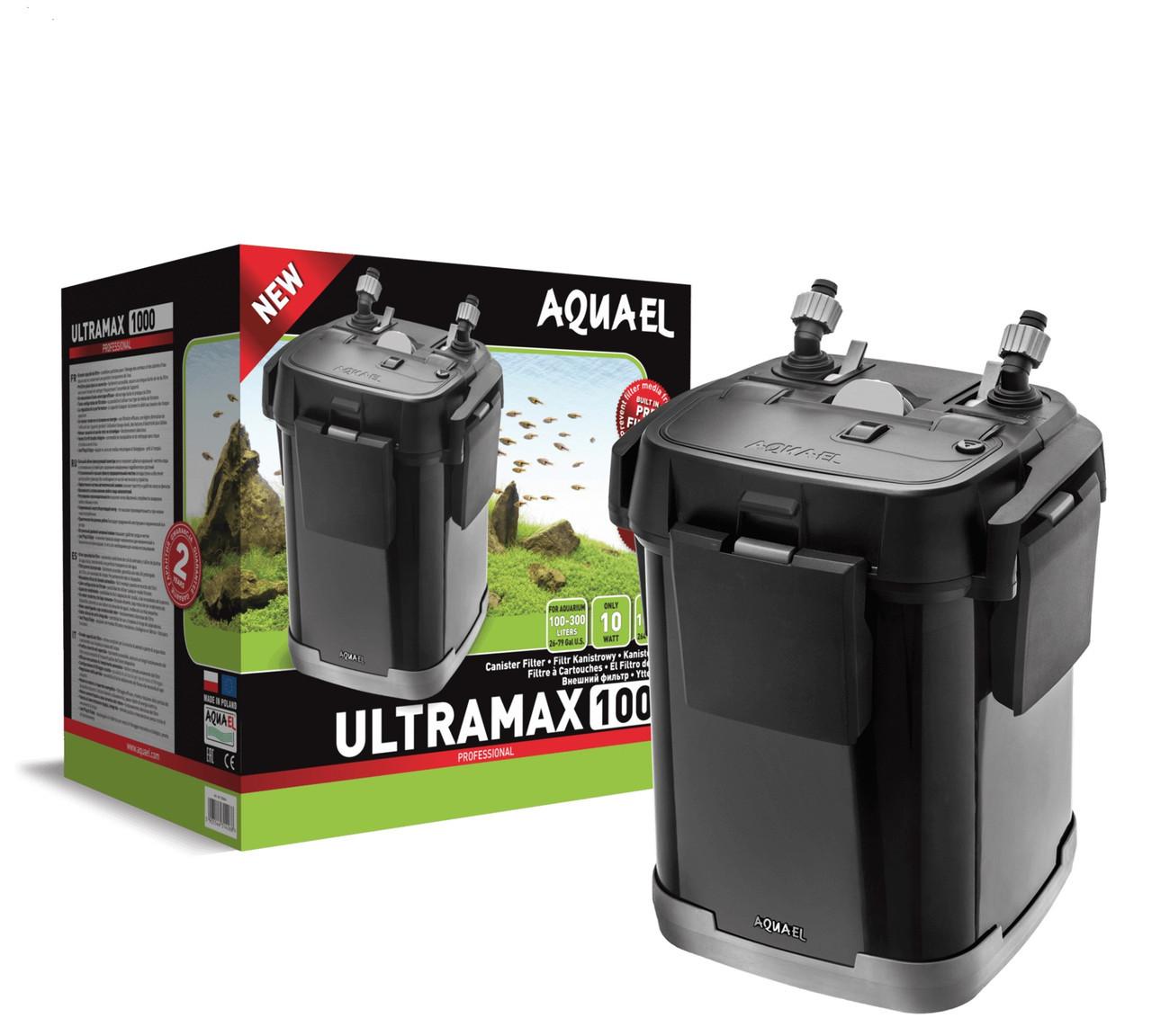 Внешний фильтр с префильтром AquaEl ULTRAMAX 1000, для аквариумов 100-300 л. (120664)