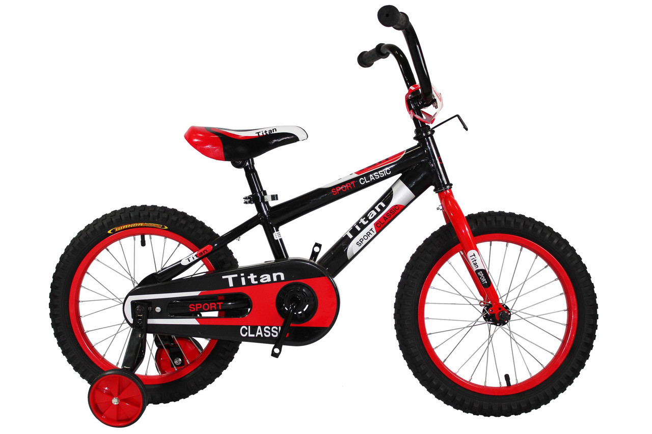 🚲Детский велосипед TITAN BMX ECO; колеса 16