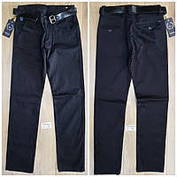 Котоновые брюки для мальчиков Pelin Kids, 8/9-12/13 лет. Артикул: P0055-1-черные