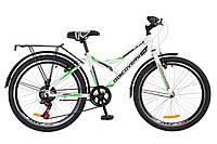 🚲Подростковый стальной велосипед Discovery FLINT 2018  (Крылья и багажник); рама 14; колеса 24, фото 1