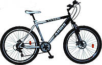 🚲Подростковый стальной горный дисковый велосипед Ardis X-Cross (Shimano, моноблок); рама 15; колеса 24