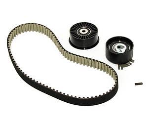 Комплект натягувач + ролик + ремінь ГРМ на Renault Trafic 03-> 2.5 dCi — Renault - 7701477380