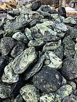 Камни для ландшафтного дизайна зеленая декоративная галька GREEN