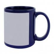 Чашка сублимационная цветная с полем 330 мл (Кобальт)