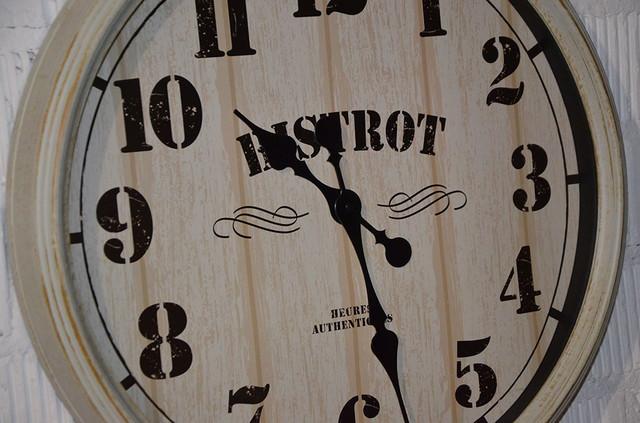 "Настенные часы ""Bistrot"" (фото)"