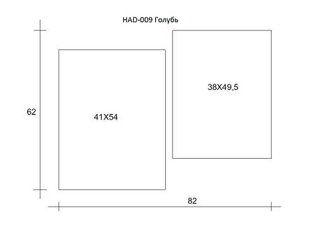 Картина модульная HolstArt Голубь 62*82 см 2 модуля арт.HAD-009, фото 2