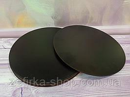 Подложка под торт уплотненная ДВП, 30 см, черная