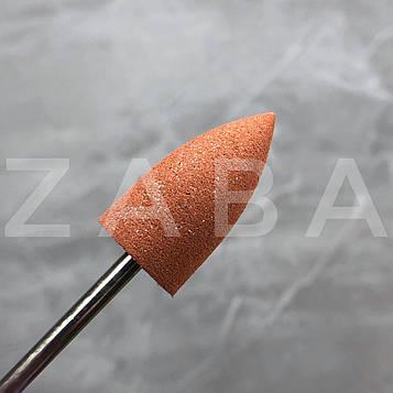 Фреза-полировщик силикон-карбидный коричневый, жесткий, шт