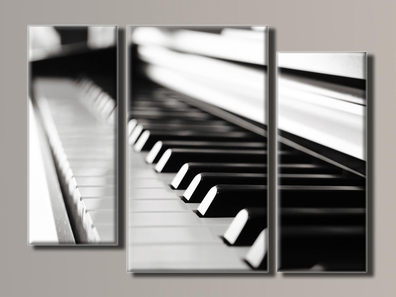 Картина модульная HolstArt Пианино 54*74см 3 модуля арт.HAT-074