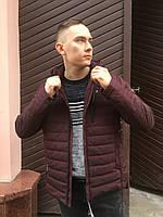 Мужская демисезонная тонкая весенне осенняя куртка бомбер ветровка бомбер спортивная классика