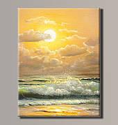 Картина (не раскраска) HolstArt Живописный закат 41*54см арт.HAS-384