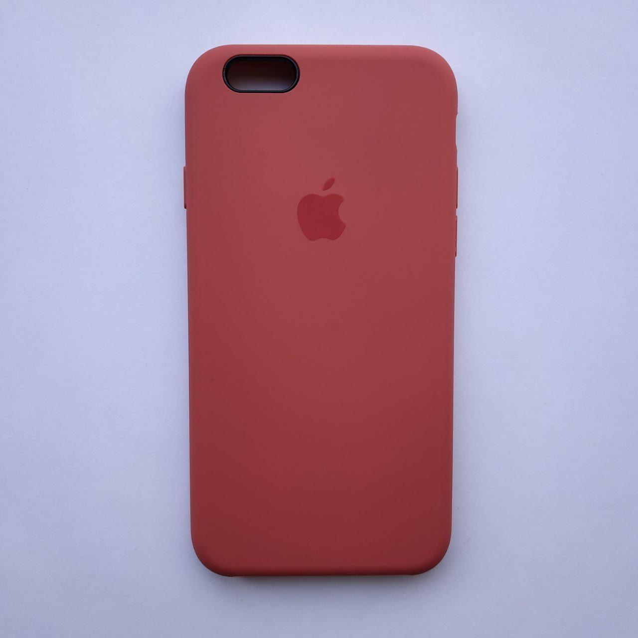Накладка оригинальная Apple Silicone Case для iPhone 6, 6S Cherry