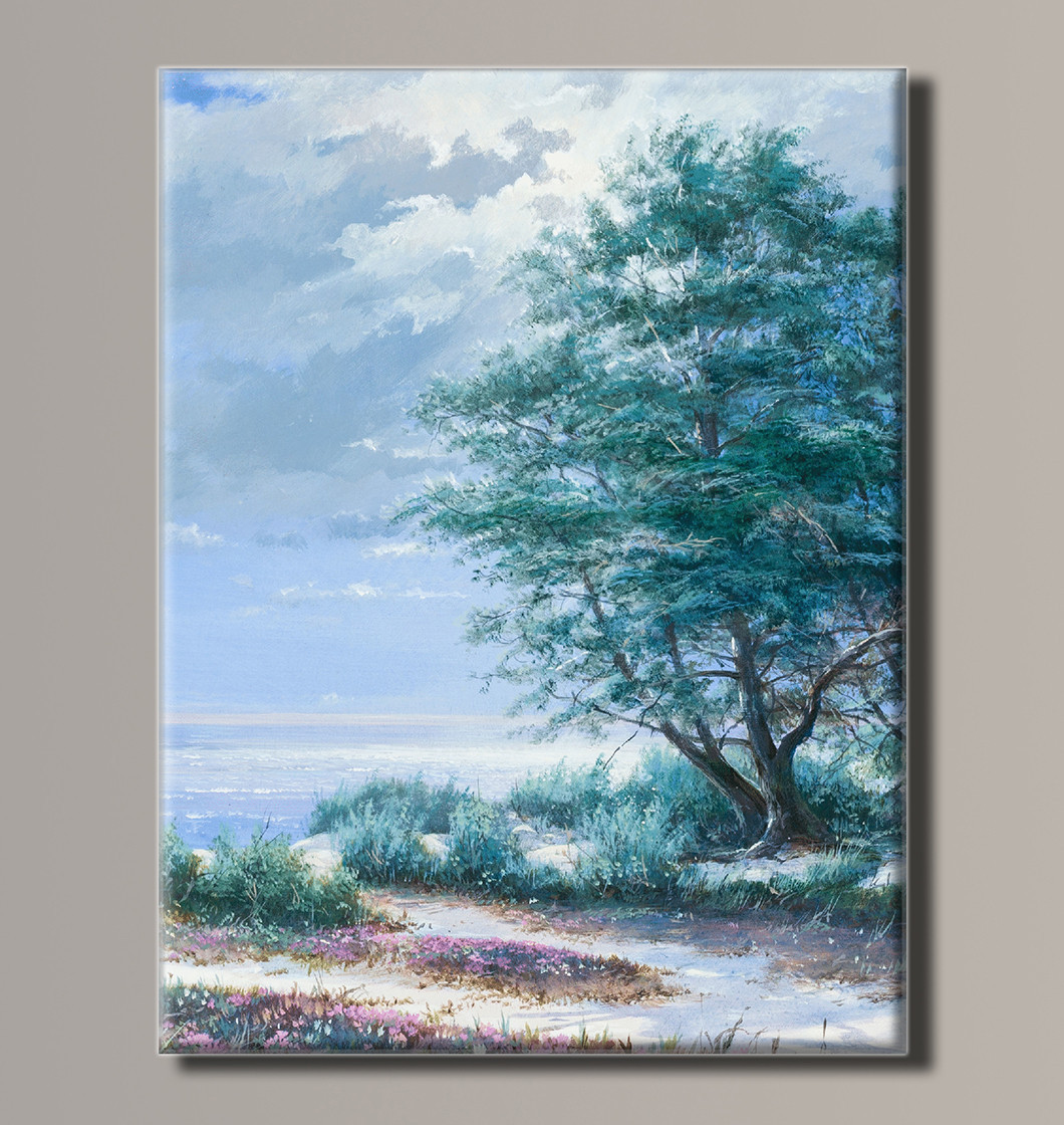 Картина HolstArt Пейзаж у моря 41*54 см арт.HAS-203