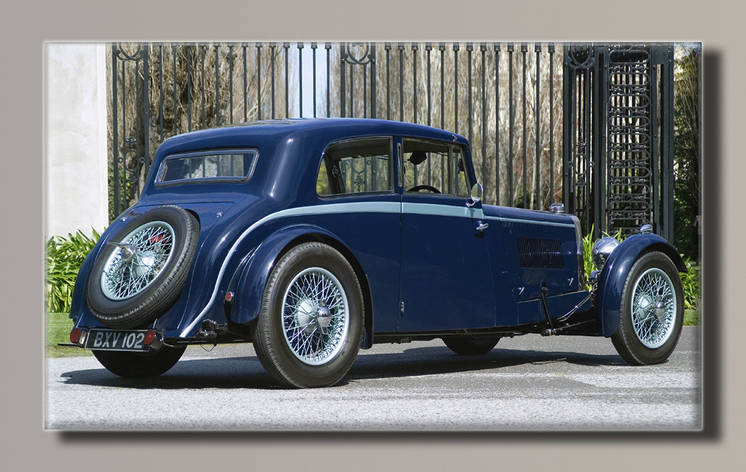 Картина HolstArt Aston Martin 1934 55*32,5 см арт.HAS-213, фото 2