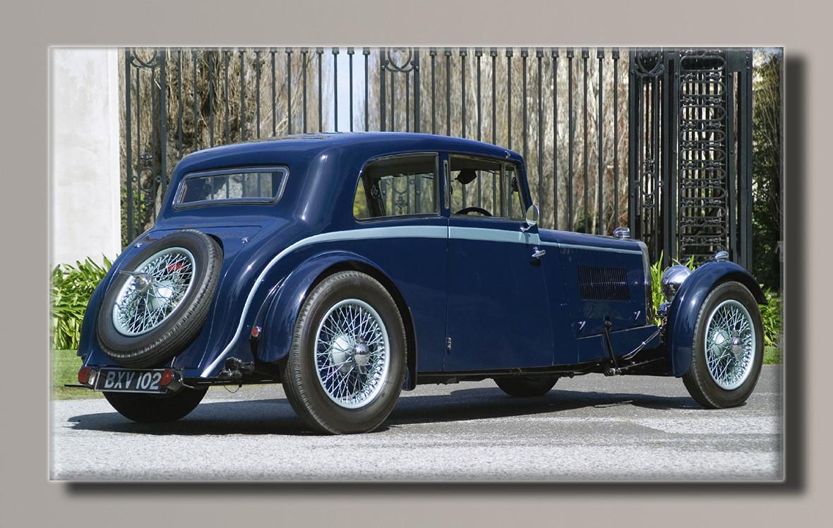 Картина HolstArt Aston Martin 1934 91*55см арт.HAS-213