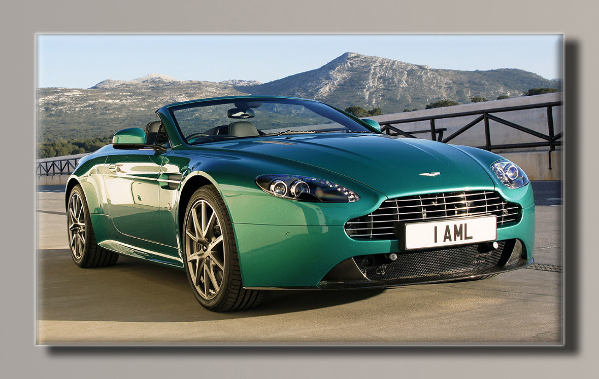 Картина (не раскраска) HolstArt Aston Martin 2010 91*55см арт.HAS-257