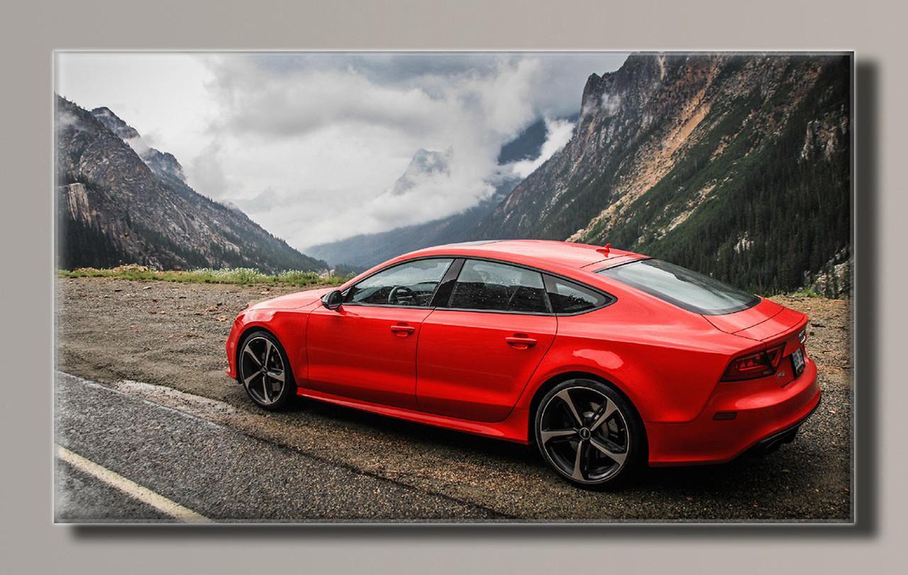 Картина HolstArt Audi RS7 55*32,5см арт.HAS-258