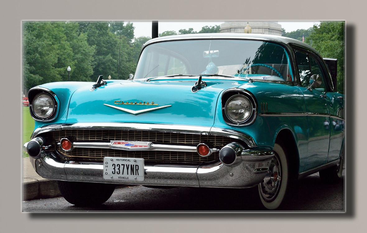 Картина HolstArt Chevrolet 1945 91*55см арт.HAS-236