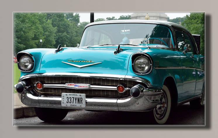 Картина HolstArt Chevrolet 1945 91*55см арт.HAS-236, фото 2