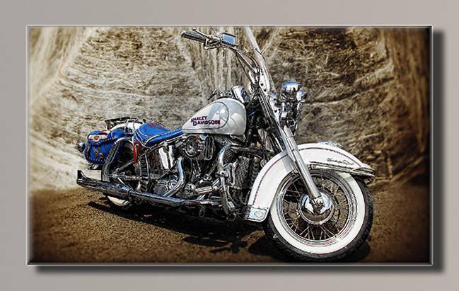 Картина HolstArt мотоцикл 91*55см арт.HAS-274, фото 2