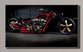 Картина HolstArt мотоцикл 55*32,5см арт.HAS-372