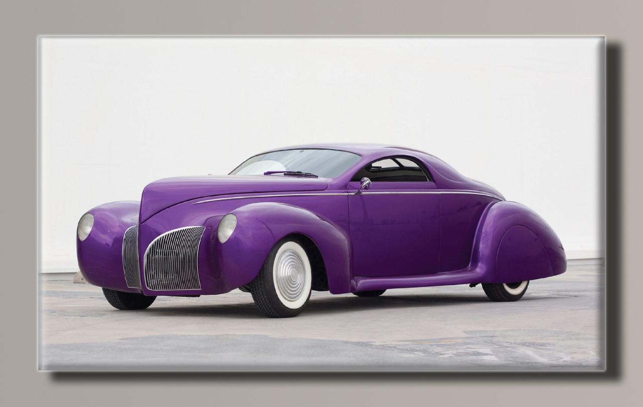 Картина HolstArt Авто ретро-стиль 91*55см арт.HAS-126