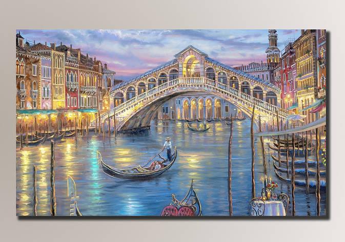 Картина HolstArt Венеция 88*54см арт.HAS-081, фото 2