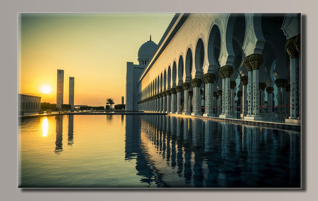Картина HolstArt Дубай 89*54см арт.HAS-336