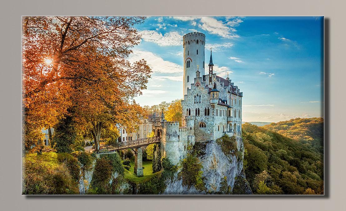 Картина HolstArt Замок 89*54см арт.HAS-289