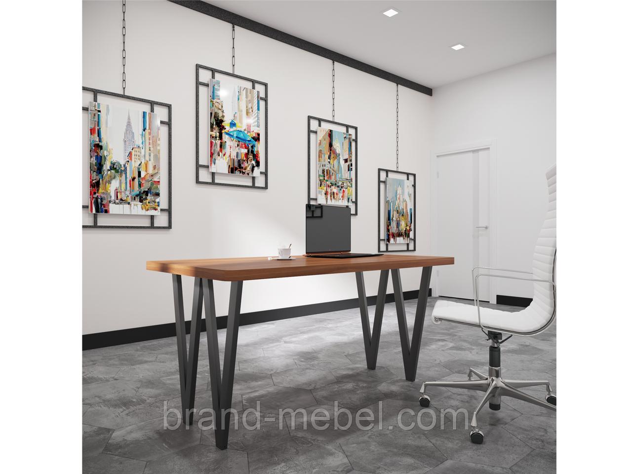 Стіл обідній Ві (стол обеденный Ви) в стилі Лофт Loft