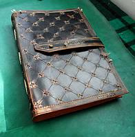 Блокнот кожаный  А4, фото 1