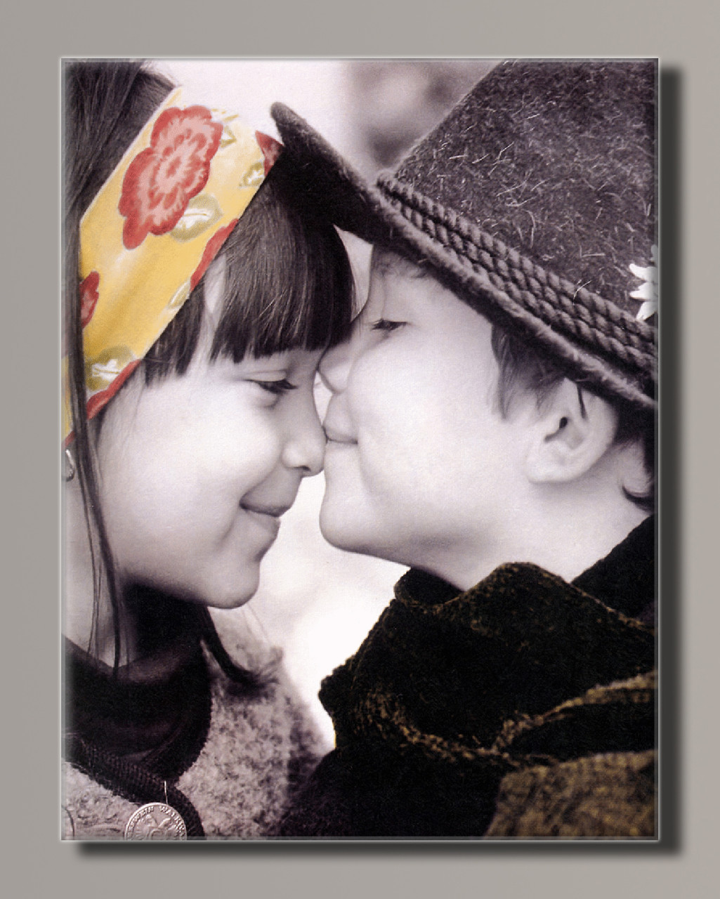 Картина HolstArt Діти від Kim Anderson 28 42*55 см арт.HAS-443