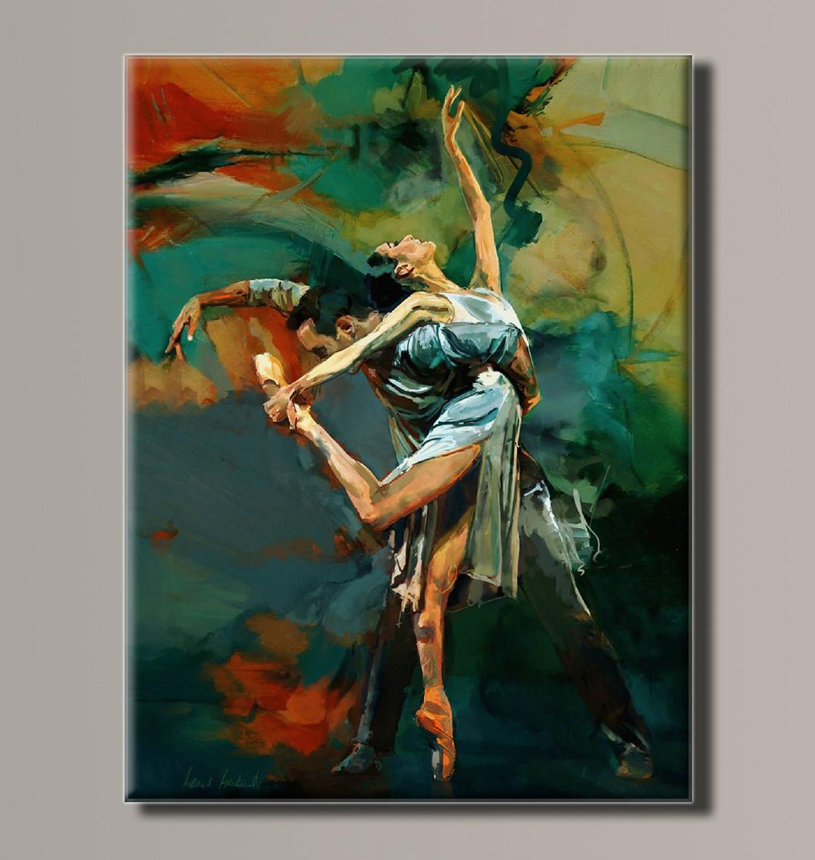 Картина HolstArt Балерина 54*70,5см арт.HAS-184