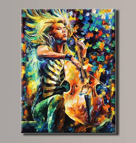Картина HolstArt Леонид Афремов Музыка 41*54см арт.HAS-187, фото 2