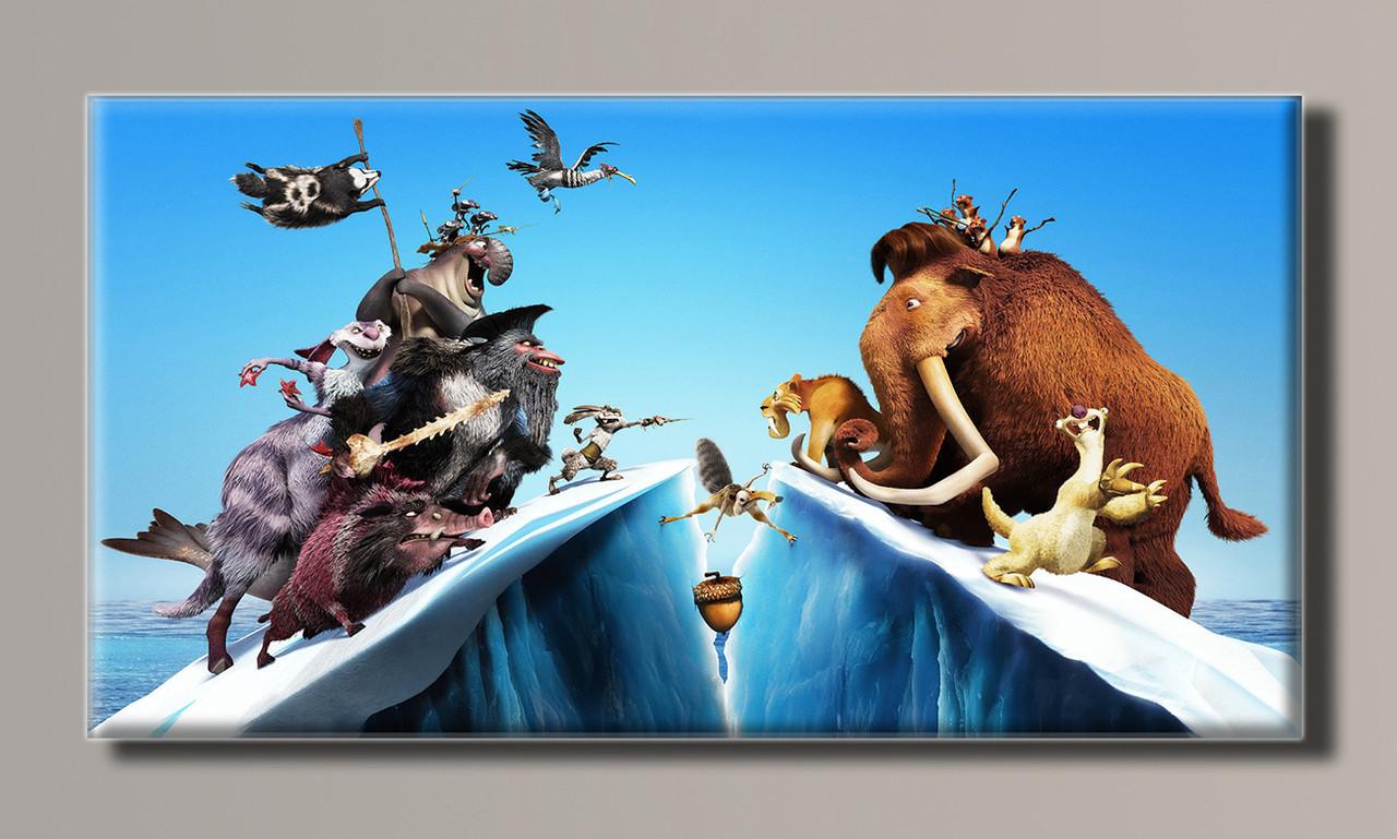 Картина HolstArt Ледниковый период 102*54см арт.HAS-186