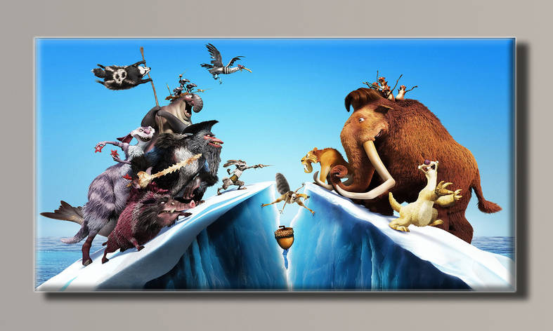 Картина HolstArt Ледниковый период 102*54см арт.HAS-186, фото 2