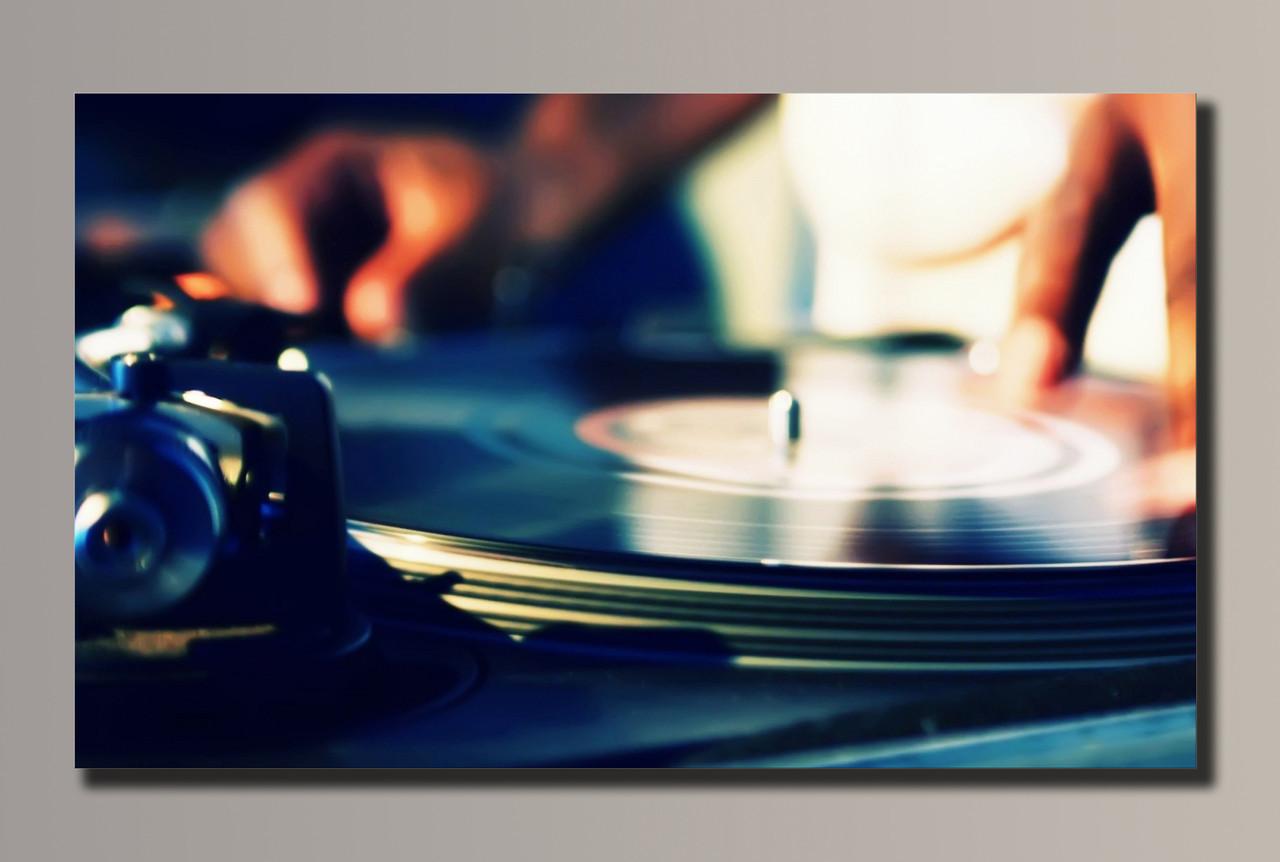 Картина HolstArt DJ Max 54*32,5см арт.HAS-007