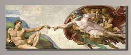 Картина HolstArt Микеланджело Адам 150*55см арт.HAS-415