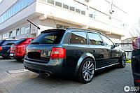 Спойлер для Audi A6 C5 Avant в стиле RS6, Козырек Ауди А6 Ц5 универсал, фото 1